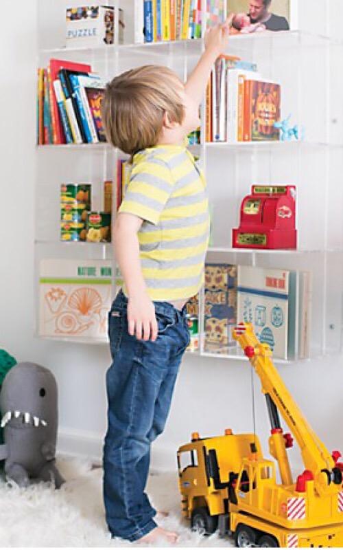 100 land of nod bookcase sprout small walnut bookcase the l