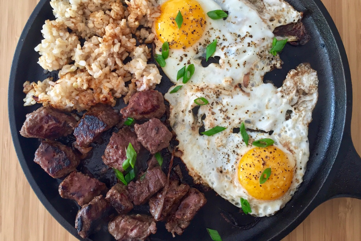 Bò Né (Vietnamese Steak and Eggs Breakfast)