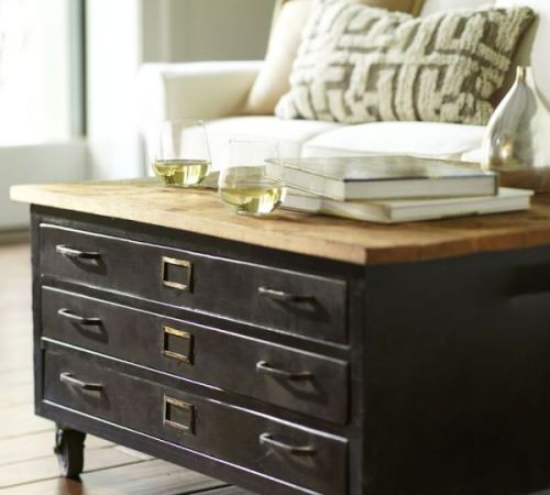 library-metal-wood-flat-file-coffee-table1