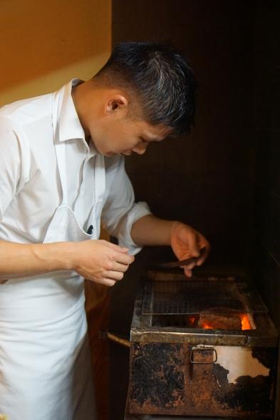 roasting seaweed