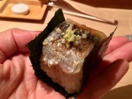 sama-pressed sushi
