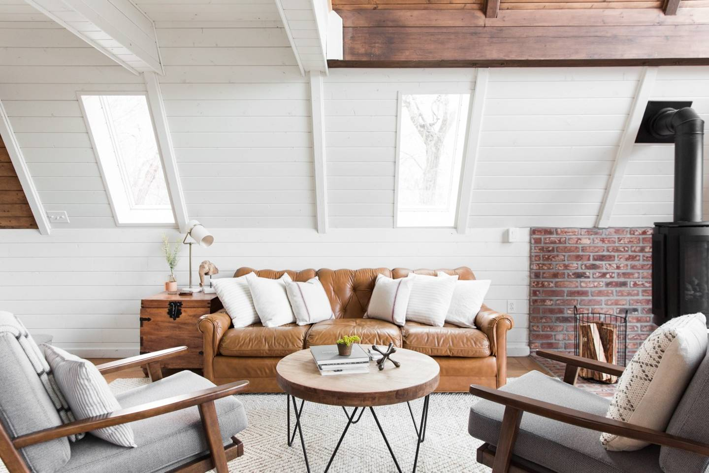 House Tour: An A Frame House Obsession