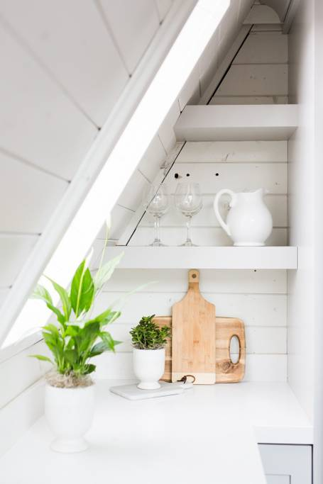 House Tour: An A-Frame House Obsession | La Vie Partagée