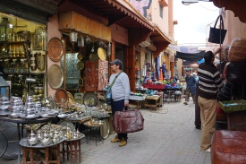 Strolling around the souk