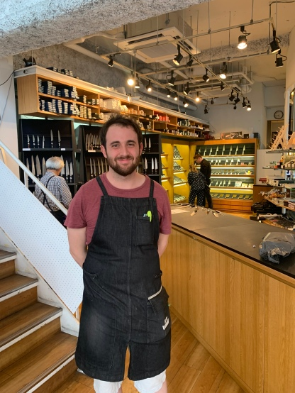 Jeremy at Kamata Hakensha