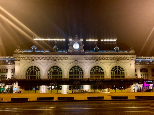 the old train station that now houses night clubs